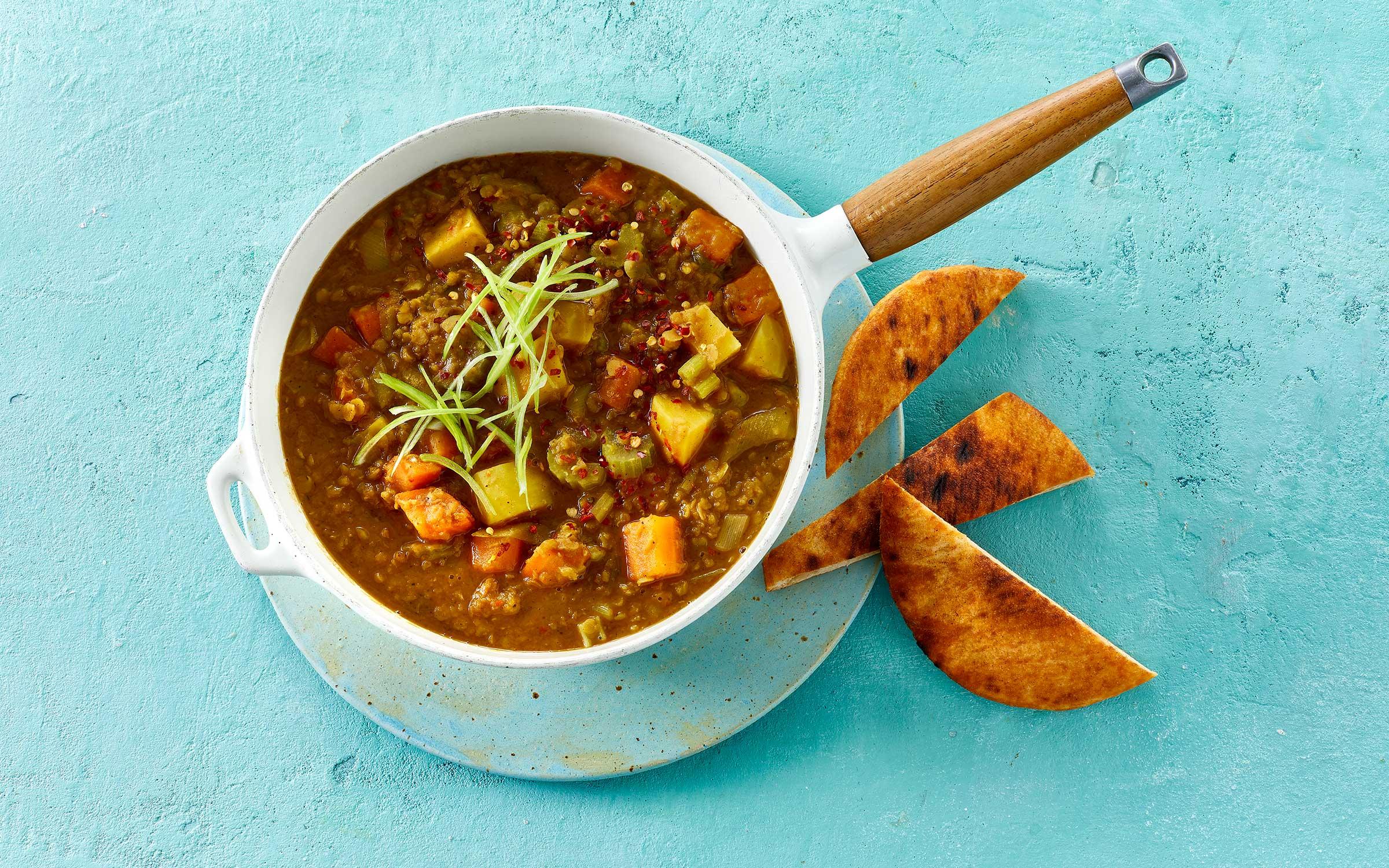 indisk curry i skål