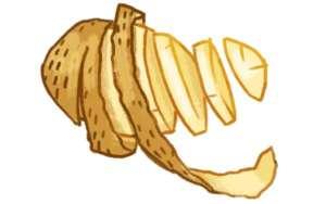Kartoffel i skiver