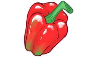 rød peberfrugt